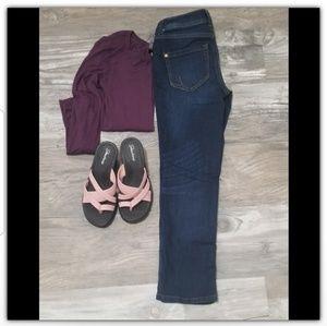 Inc jeans size 2P dark wash